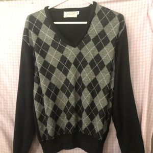1989's Men's Briarcliff argyle sweater